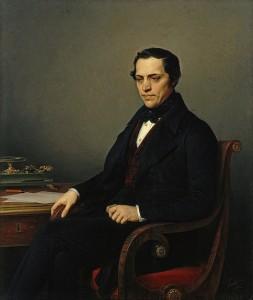 Д. Е. Бенардаки. Портрет работы К. К. Штейбена. 1844 год.